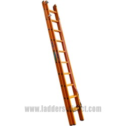 Euroglas All Glassfibre Extension Ladder (Rope Operation) to EN131
