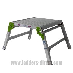 Aluminium Step Bench open