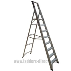 Diamond Class 1 Aluminium 8 Tread Platform Step