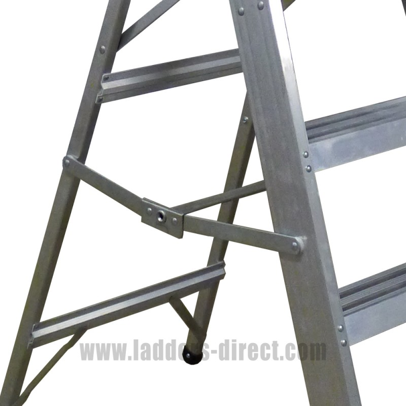 Diamond Class 1 Aluminium Platform Step Ladders