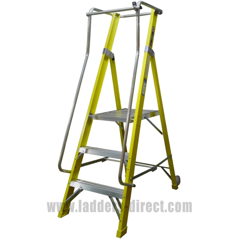 Clow Superglas Ar Platform Step Ladders Direct Com