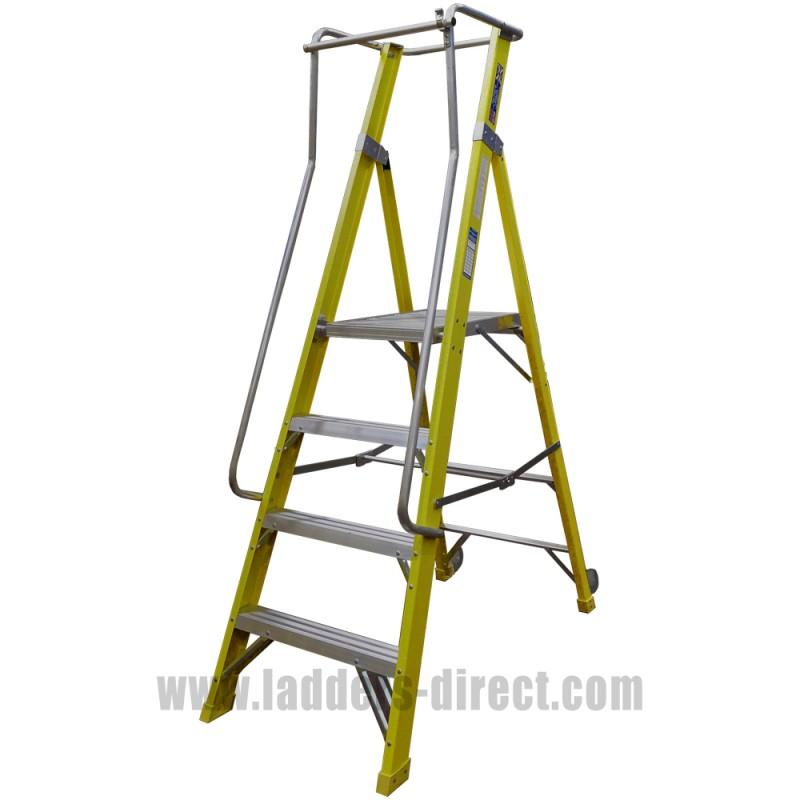 Clow Superglas Ar Platform Step Ladders Direct Com