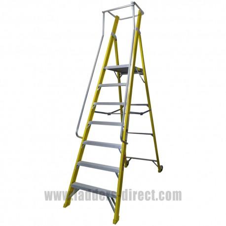 Superglas AR 7 Tread Podium Platform Step