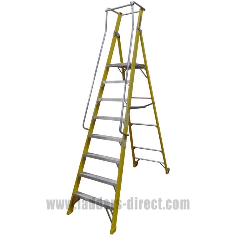 Clow Superglas Ar Podium Platform Step Ladders Direct Com