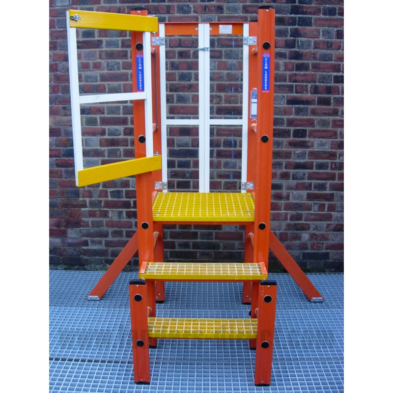 Clow Glassfibre Podium Step Ladders Direct Com