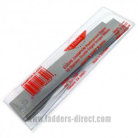 Ettore Champion Scraper 10 Blade Replacement Pack