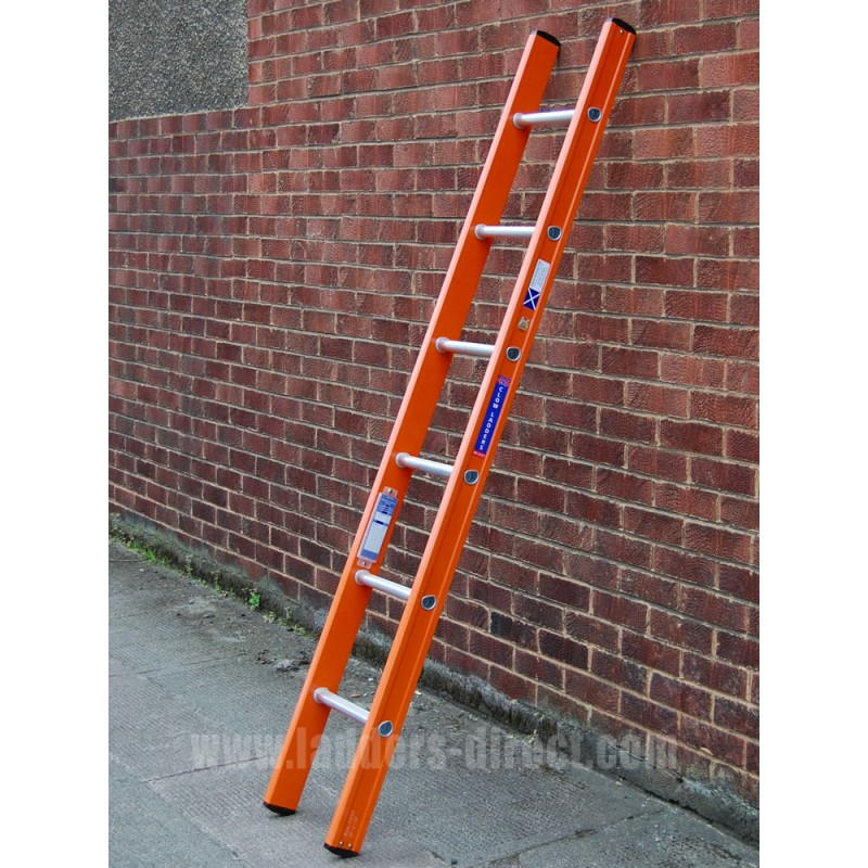 Clow Aluglas Glassfibre Ladder Single To En131 Ladders