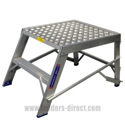Clow Heavy Duty Aluminium Step Bench