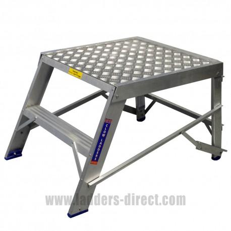 Clow Heavy Duty Aluminium Step Bench