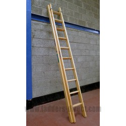 Wire Reinforced Timber Extension Ladder (Dual Section) to EN131