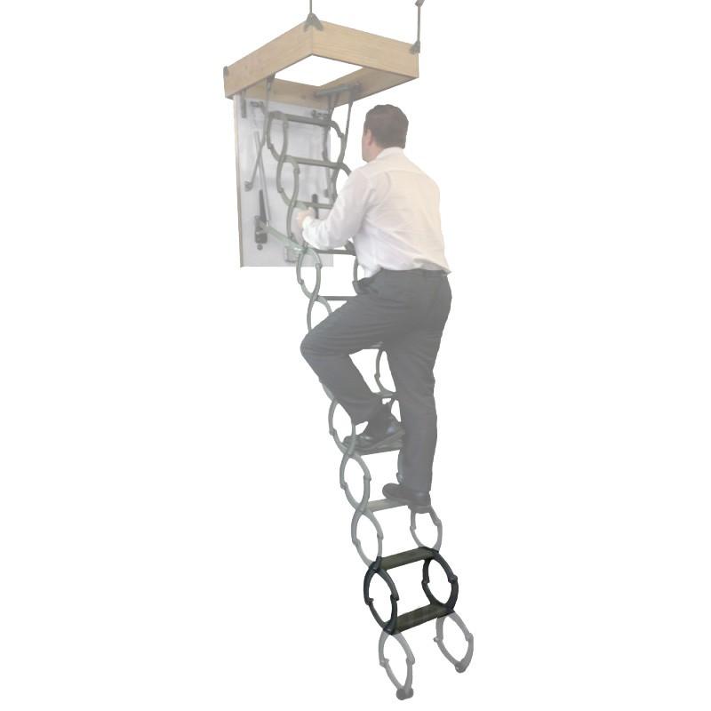 Clow Metal Scissor Loft Ladder Extension