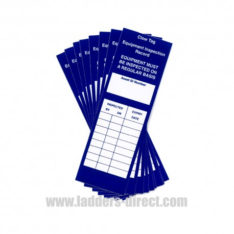 Self Adhesive Clow Inspection Tags