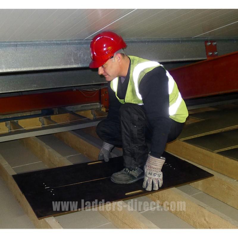 Clow Folding Loft Crawl Board Ladders Direct Com