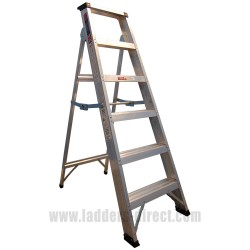 Clow EN131 Professional Aluminium Builders Step Ladder
