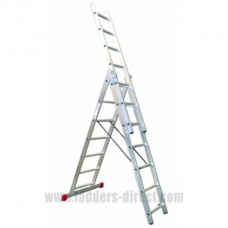 Clow EN131 Professional Reach-A-Light Combination Ladder