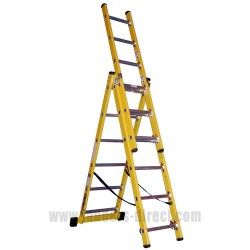 Clow Superglas Reach-A-Light Ladder to EN131 Professional open