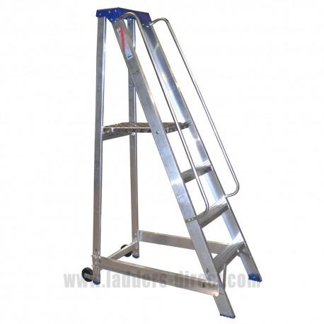 Aluminium Warehouse Non-folding Platform Step