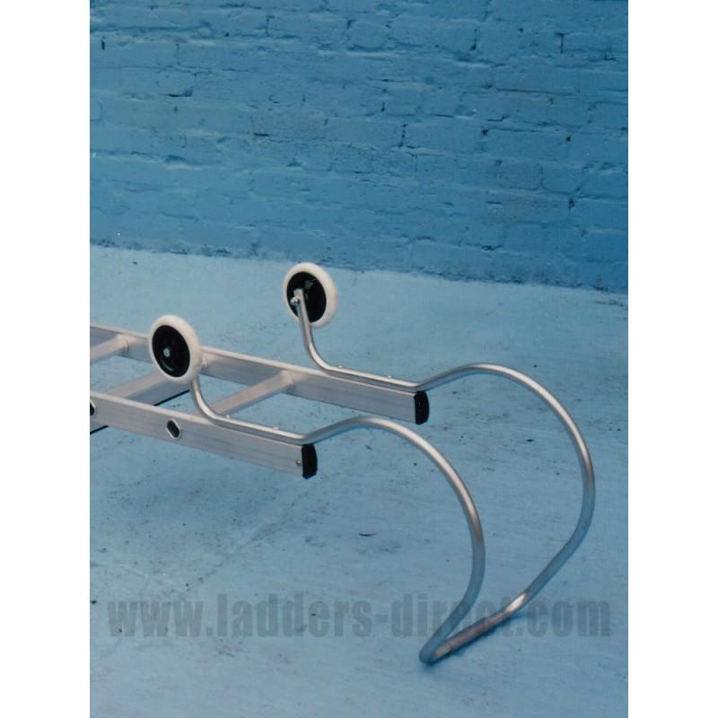Steel Ridge Hook And Wheels For Clow Roof Ladder Ladders