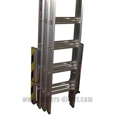 Clow EN131 Professional Aluminium Triple Extension Ladder