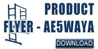 AE5WAYA Product Flyer