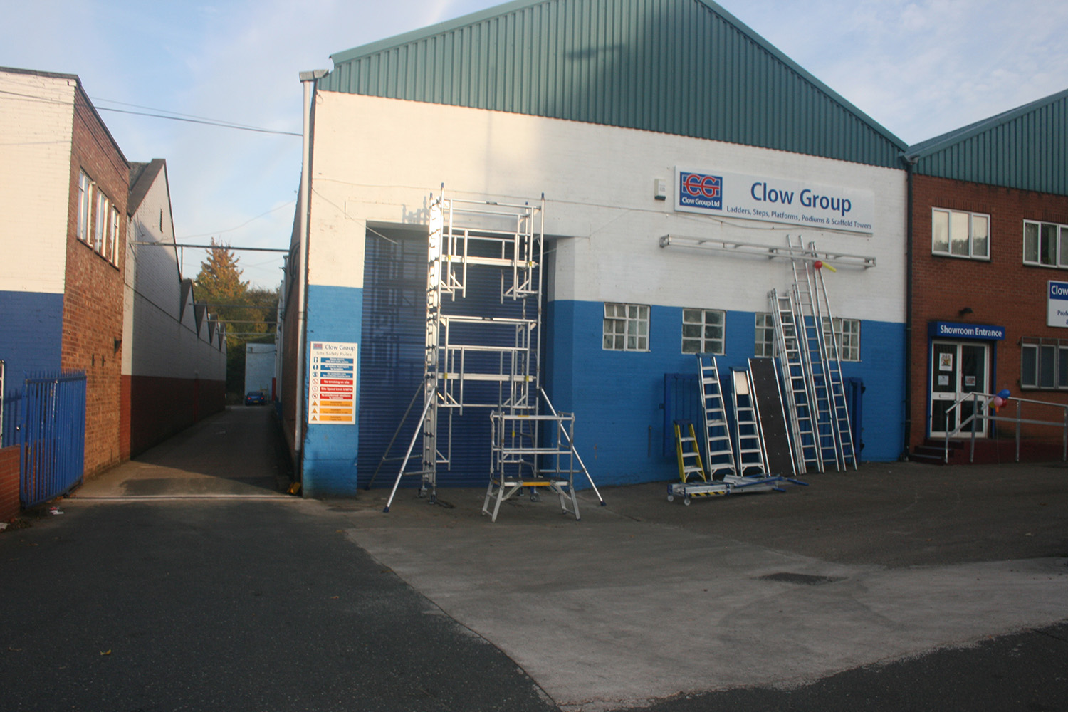 Ladders-Direct.com Midlands Showroom
